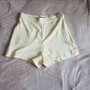 American Apparel Crepe High Waist Shorts